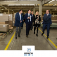 The Vice President of Economic Development of the Government of Navarra, Manu Ayerdi, supports our work as a cooperative with his visit to our facilities